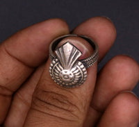 925 sterling silver traditional vintage design fabulous adjustable ring tribal belly dance jewelry !!sr24