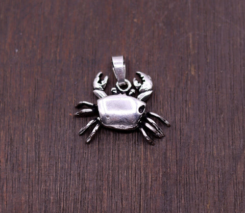 Fabulous handmade 925 sterling silver gorgeous tiny pendant excellent stylish hip hop jewelry from india nsp224