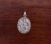 Vintage antique design handmade 925 sterling silver goddess pendant excellent tribal jewelry stylish gifts nsp276