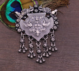 Excellent design Lord Ganesha 925 sterling silver vintage design handmade pendant necklace tribal jewelry  custom made jewelry nsp240