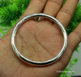 925 sterling silver handmade gorgeous shining adjustable bangle bracelet kada,fabulous girls gifting jewelry personalized jewelry nsk257