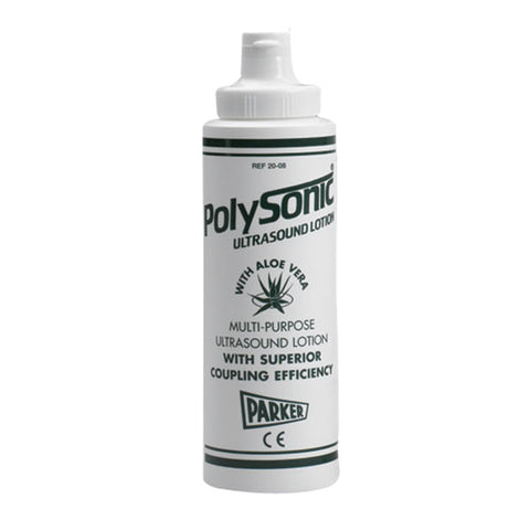 20-08 Polysonic Ultrasound Lotion, 8.5 oz.12 Bottles/Box - Scorpiamedimart