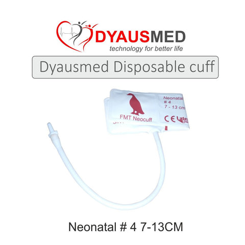 COMPATIBLE DISPOSABLE NIBP NEONATAL CUFF ( 4 7-13CM ) - Scorpiamedimart
