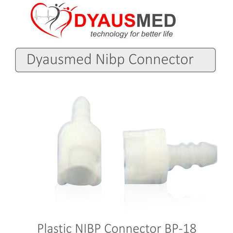 COMPATIBLE PLASTIC NIBP CONNECTOR BP-18 - Scorpiamedimart