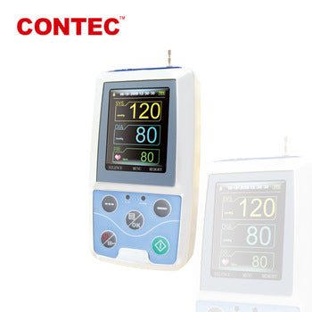 CONTEC AMBULATORY BLOOD PRESSURE MONITOR ABPM-50 - Scorpiamedimart