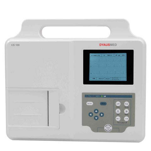 DYAUSMED CS100 (3CHANNEL ECG MACHINE) / CARDIOGRAPH / EKG MACHINE - Scorpiamedimart