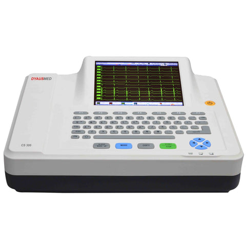 DYAUSMED CS300 (12CHANNEL ECG MACHINE) / CARDIOGRAPH / EKG - Scorpiamedimart