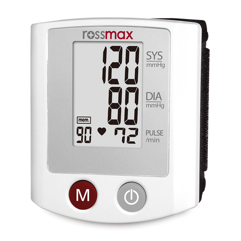 ROSSMAX DIGITAL BP MONITOR & PARTS WRIST TYPE-S-150 F - Scorpiamedimart