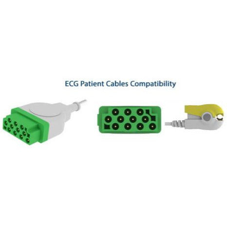 Patient Monitoring Diagnostic ECG cable  E204-5060/GI ( Compatible with GE  ) - Scorpiamedimart