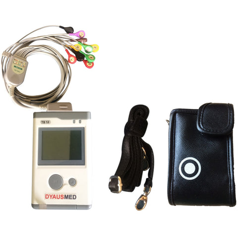 DYAUSMED SMART TRACK 12 LEAD HOLTER - TC12 (INCLUDING PC) - Scorpiamedimart