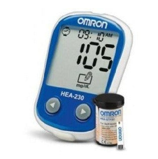 BLOOD GLUCOSE MONITORING KIT HEA-230 (OMRON) WITH 25 STRIP