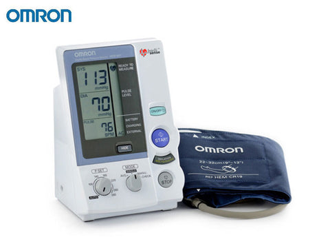 AUTOMATIC BLOOD PRESSURE HEM-907C3 (OMRON) WITH ADAPTOR - Scorpiamedimart