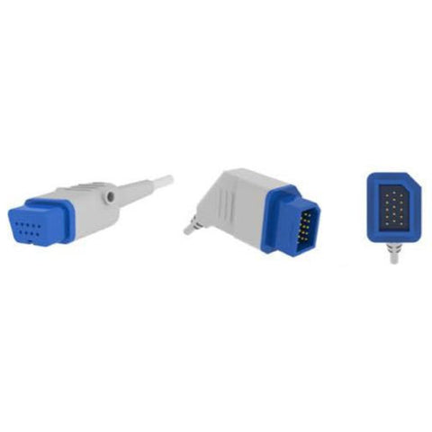 COMPATIBLE SPO2 ADAPTOR & EXTENSION CABLE (AEC-5122) - Scorpiamedimart