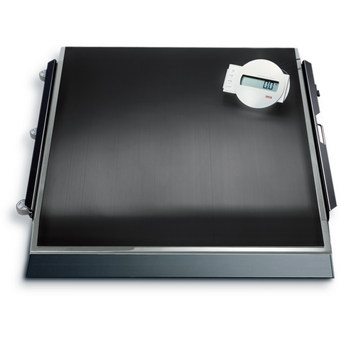 seca 674 High Capacity Digital Platform Scale with Transport Castors - Scorpiamedimart