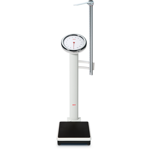 seca 786 Mechanical Column Scale with Large Round Dial (Including Measuring Rod) - Scorpiamedimart