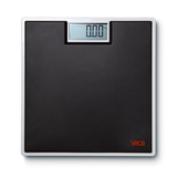 Seca 803 Electronic Flat Scale with High-Quality Two-Component Rubber Surface (Black Rubber) - Scorpiamedimart