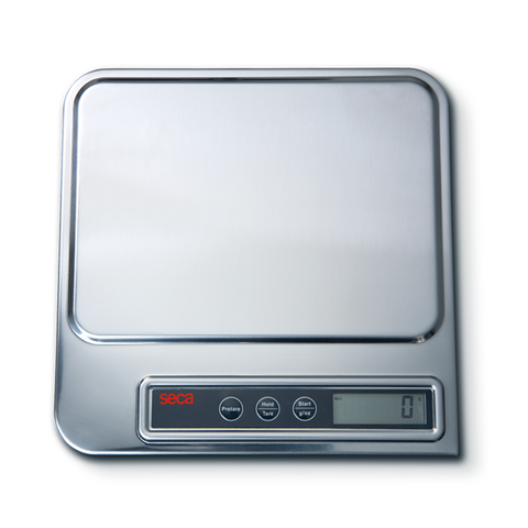seca 856 Digital Organ & Diaper Scale With Stainless Steel Cover - Scorpiamedimart