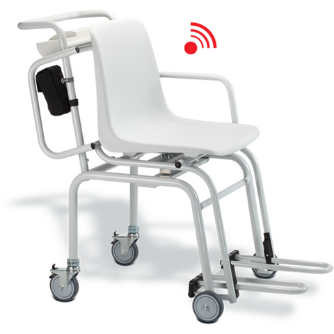 Seca 954 Wireless Chair Scales To Weigh Seated Patients - Scorpiamedimart