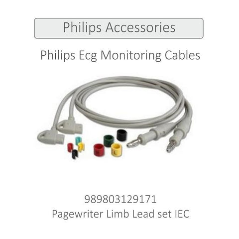 Pagewriter Limb Lead set IEC   989803129171 - Scorpiamedimart