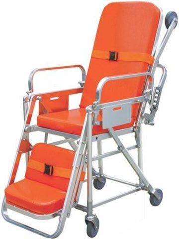 NISCOMED STRETCHER CUM WHEELCHAIR - Scorpiamedimart