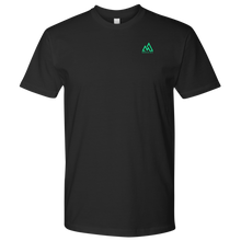 Load image into Gallery viewer, MM Signature Emblem Men's Tee - Black & Green