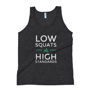 Low Squats High Standards - Women's Tank Top