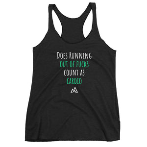Running Out Of F*cks - Women's Racerback Tank