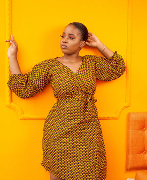 robe cache coeur - look'afrik paris