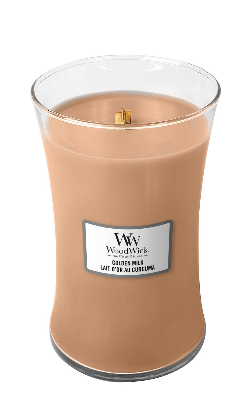 Golden milk Large Candle - Valeur home Decoration