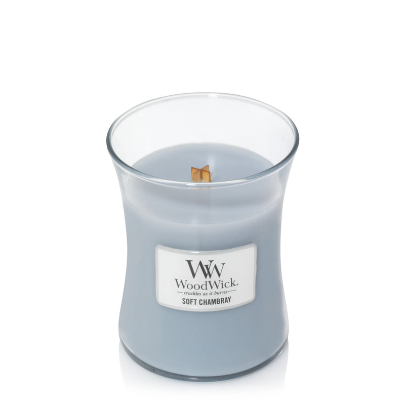 Soft Chambray Mini Candle - Valeur home Decoration