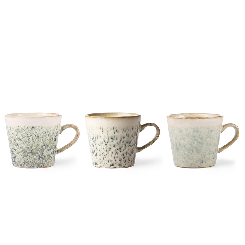 HKliving mok cappuccino Hail - Valeur home Decoration