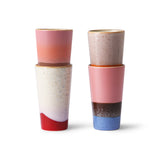 HKliving Latte mokken set van 4 - Valeur home Decoration