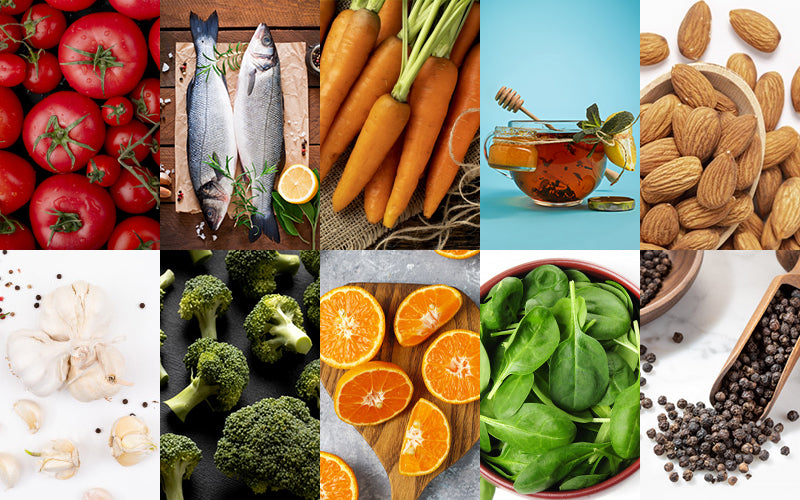 10 Foods For A Naturally Glowing Skin