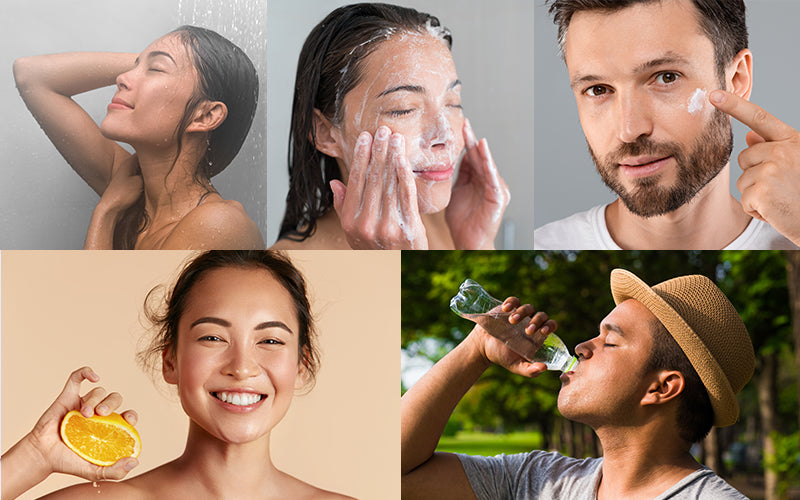 5 Tips to recover skin after sun exposure