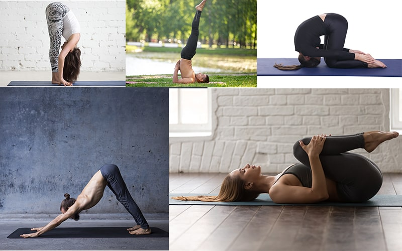 yoga asanas to enhance hair growth