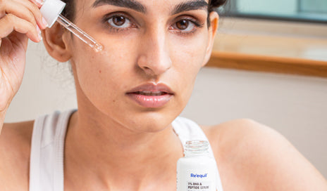 How to use reequil 1% BHA & Peptide Serum
