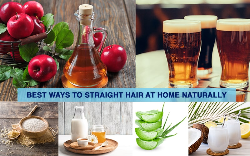 Best Ways to Straight Hair at Home