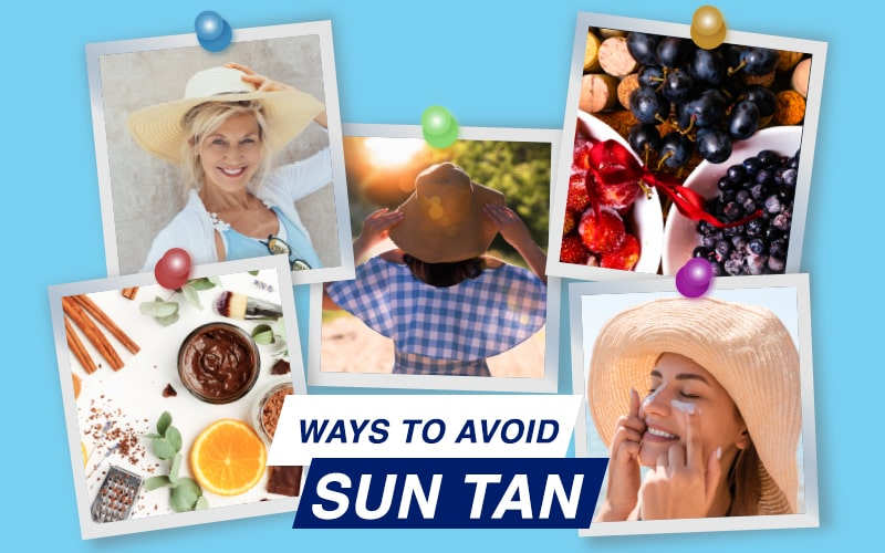 How to avoid tanning this summer