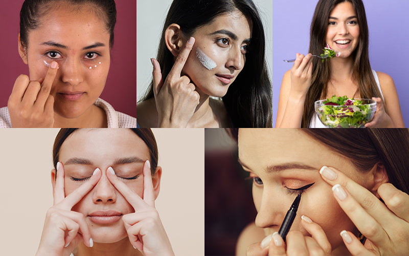 Tips to prevent fine lines under eyes