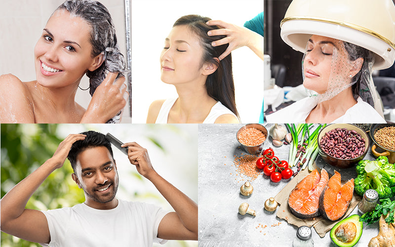 Tips to prevent hair loss due to sweating