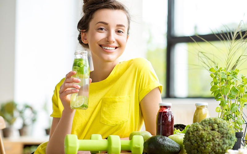 Ultimate Benefits Of Detox Water For Clear Skin