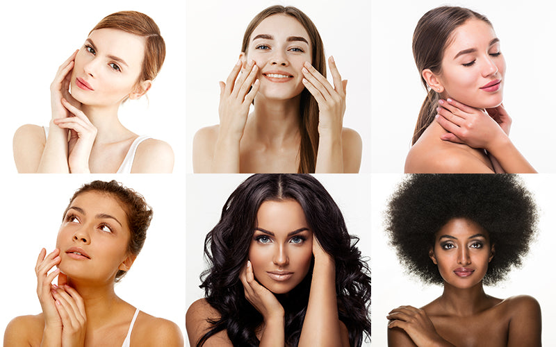 Types of skin complexion