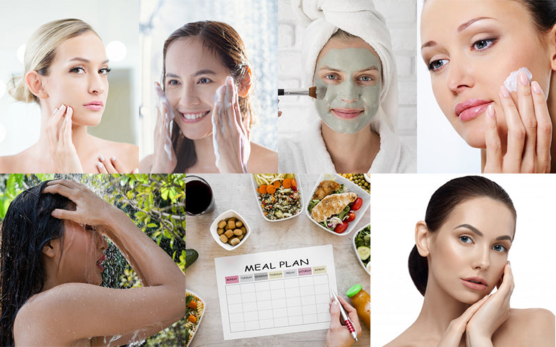 Effectual Technioues Healthy And Shiny Skin