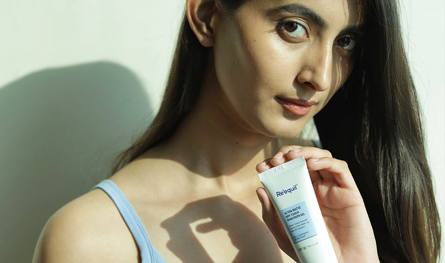 Re'equil Ultra Matte Dry Touch Sunscreen Gel reviews