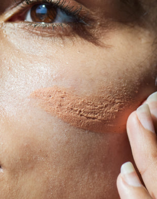 Texture of Re'equil Sheer Zinc Mineral Sunscreen and how it feels