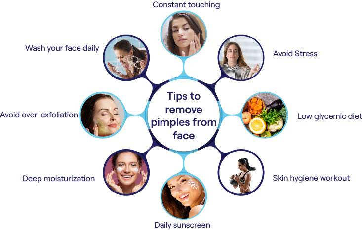 easiest tips to remove pimples from face