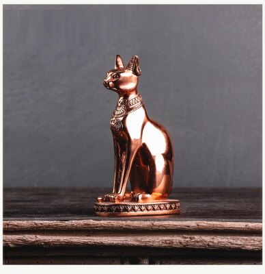 Figurine Égyptienne <br> Chat Bastet en Bronze