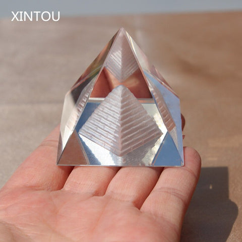 Figurine Égyptienne <br> Pyramide Inception