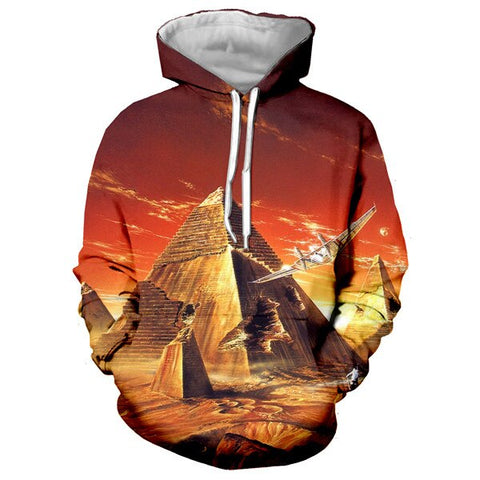 Sweat Égyptien <br> Pyramide du Futur