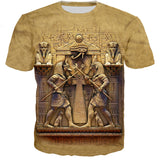 T-Shirt Égyptien <br> Protection du Temple